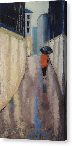 Venice Rain Canvas Print