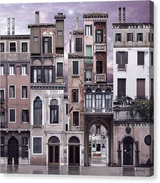 Venice Reconstruction 1 Canvas Print