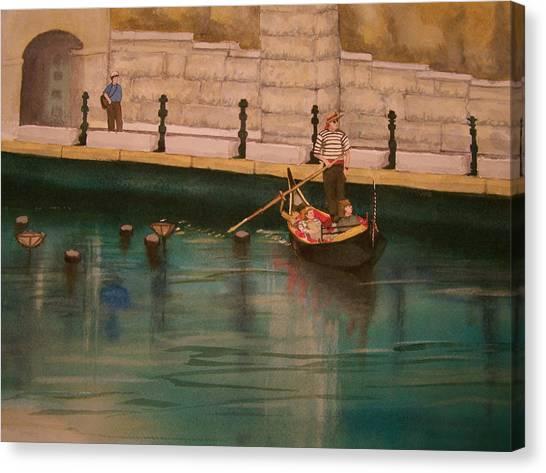 Venice Via Providence Canvas Print