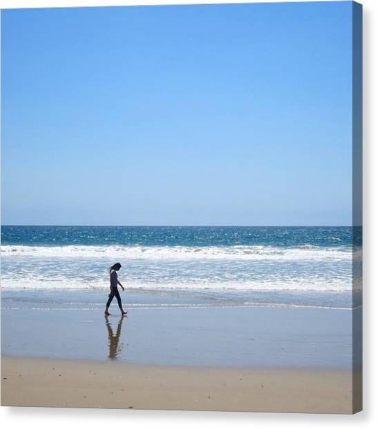 Venice Beach Canvas Print - #venicebeach #venice #la #beach by Rodolfo Salgado