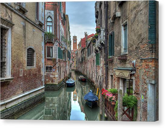Venetian Morning Canvas Print