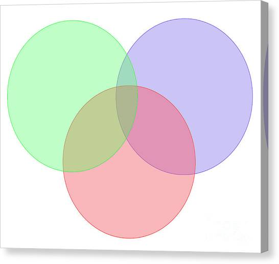 Mba Canvas Print - Venn Diagram  by Humourous Quotes