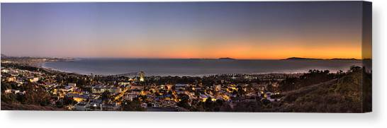 Ventura, Anacapa And Santa Cruz Islands Hdr Canvas Print