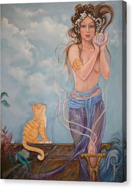 Venus  Canvas Print by Catherine Moore