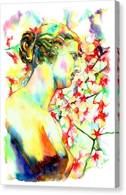 Greek Art Canvas Print - Venus De Milo by Christy  Freeman