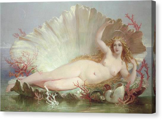 Sexuality Canvas Print - Venus by Henry Courtney Selous