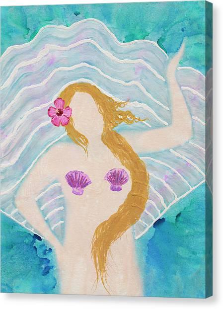venus on the half shell painting