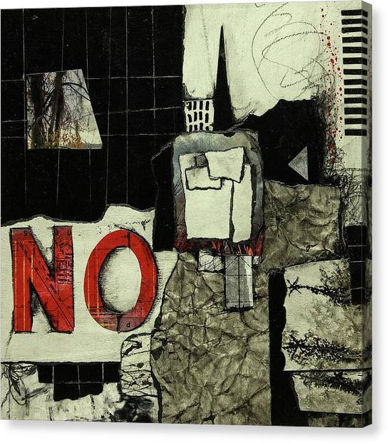 Canvas Print - Verbal Statement  by Laura Lein-Svencner
