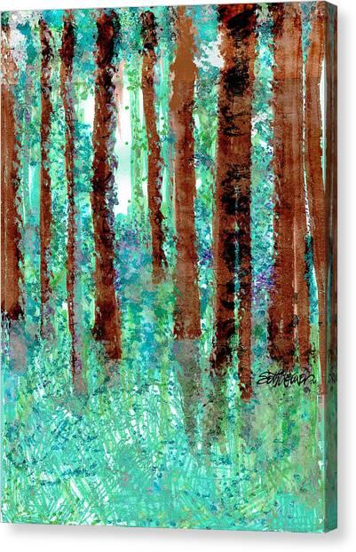 Verdant Vistas Canvas Print