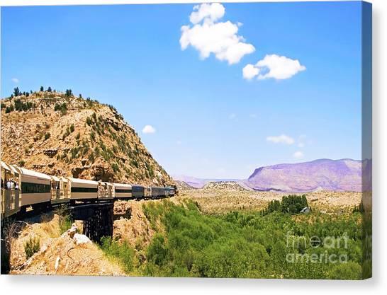 Verde Valley Train  Canvas Print