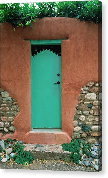 Verde Way Canvas Print