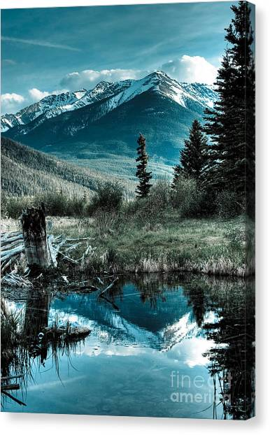 Vermillion Lake Canvas Print