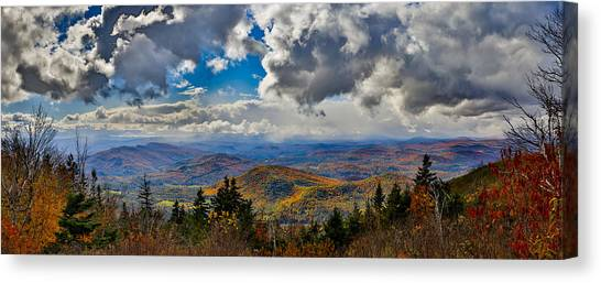 Vermont Autumn From Mt. Ascutney Canvas Print