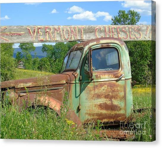 Vermont Cheese Canvas Print