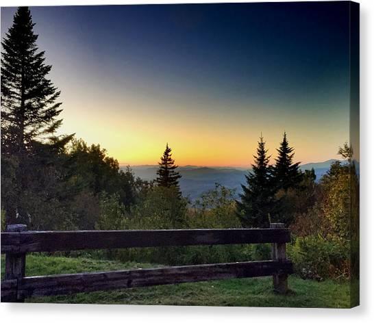 Vermont Evening Canvas Print