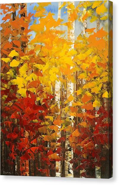 Vermont Palette Canvas Print