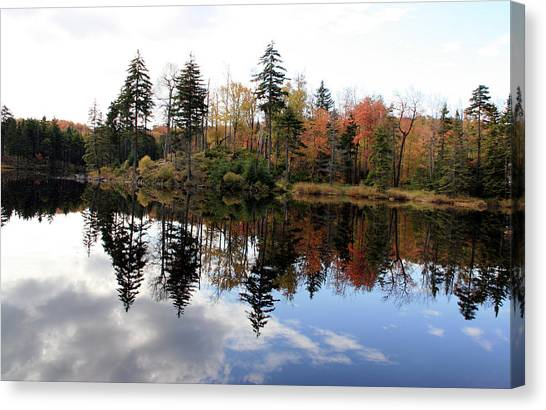 Vermont Reflections 2 Canvas Print by George Jones