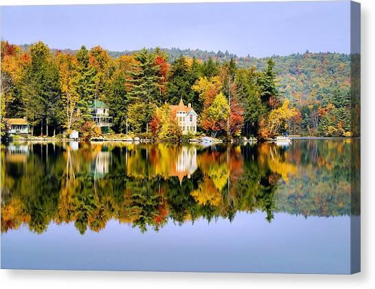 Vermont Reflections Canvas Print