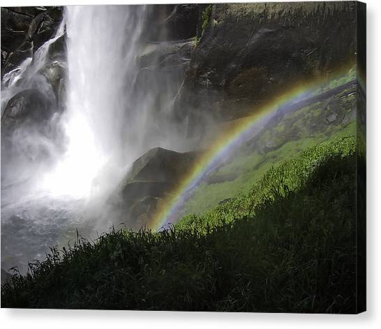 Vernal Falls And Rainbows Canvas Print