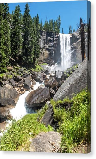 Vernal Falls- Canvas Print