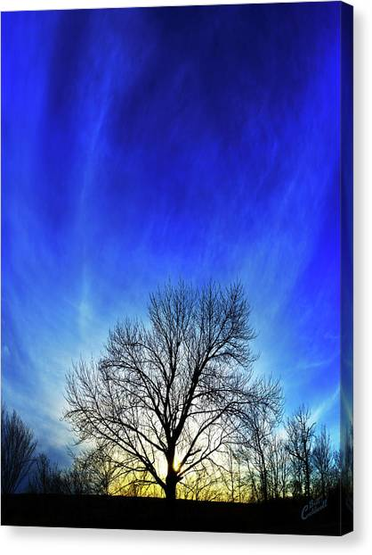 Vernal Sunset Canvas Print