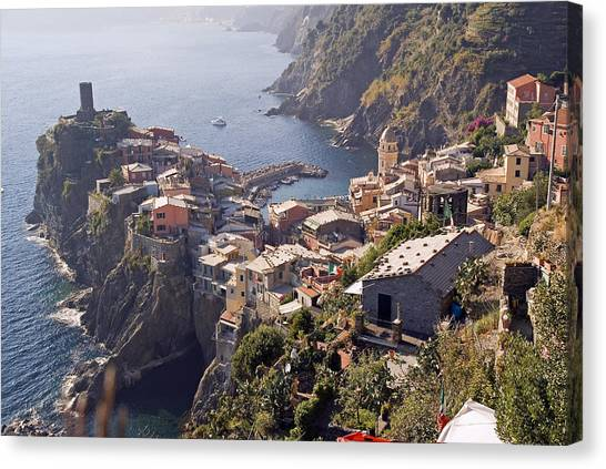 Vernazza And The Cinque Terre Canvas Print