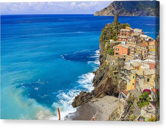 Vernazza Canvas Print by Rick Starbuck
