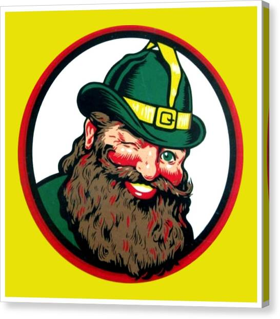 Vernors Ginger Ale - The Vernors Gnome Canvas Print