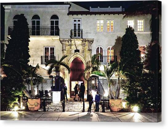 Versace Mansion South Beach Canvas Print