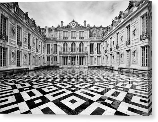 Versailles Architecture Paris Canvas Print