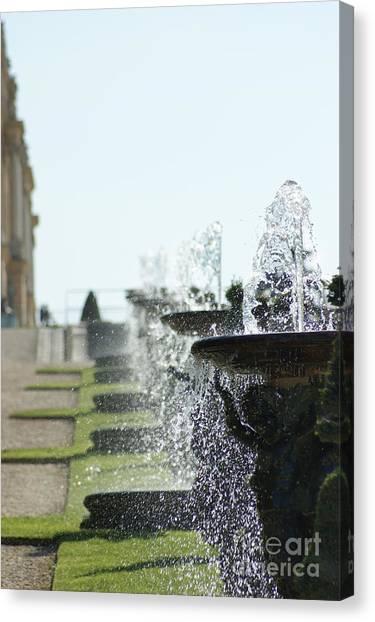 Versailles Fountains Canvas Print