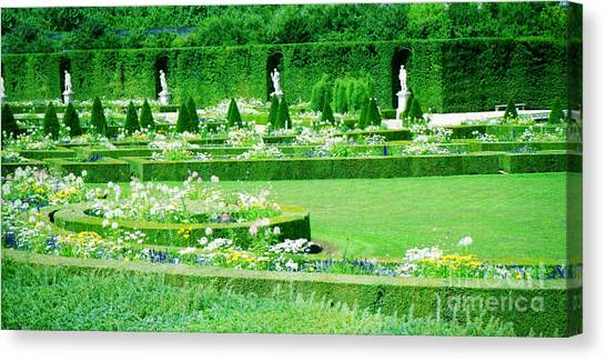 Versailles Pathways Canvas Print