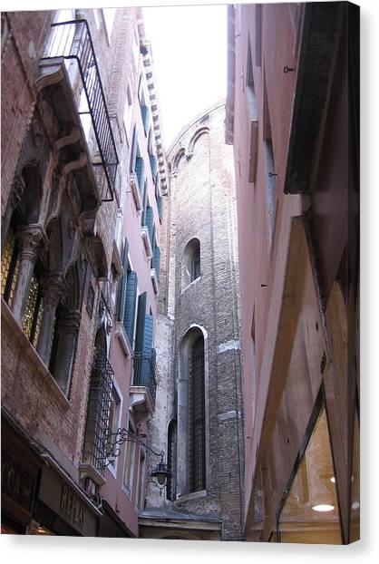 Vertigo In Venice Canvas Print