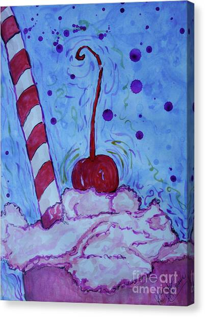 Very Cherry Soda Canvas Print