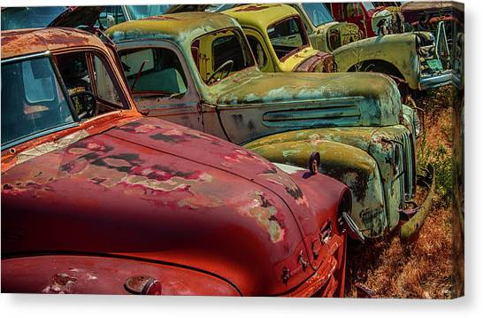 Very Late Models Canvas Print