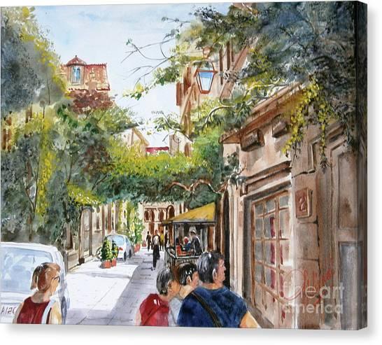 via Margutta Canvas Print