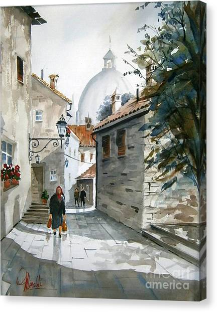 Via Coronari Canvas Print