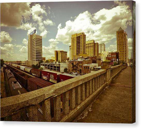 Viaduct View Canvas Print