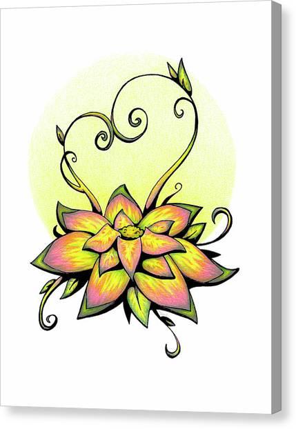 Vibrant Flower 8 Canvas Print