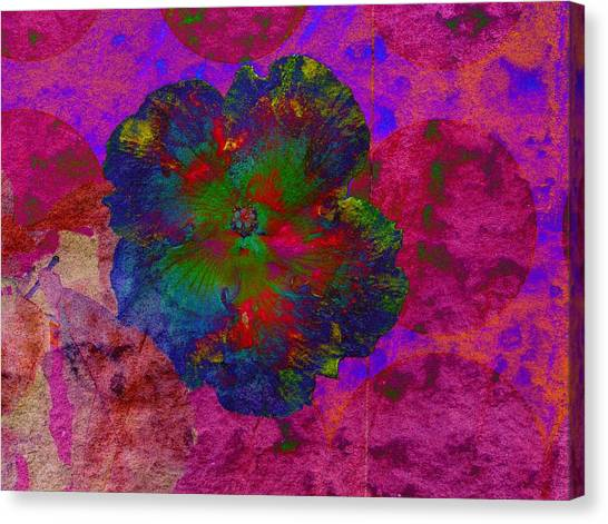 Vibrant Flower Series 1 Canvas Print by Jen White