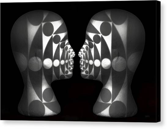 Vibrating Forms Canvas Print
