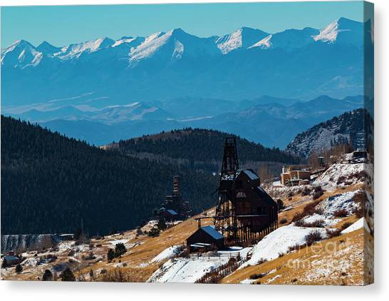Victor Gold Mine Canvas Print