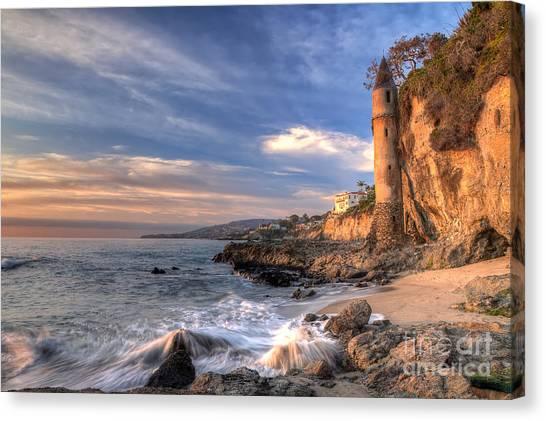 Victoria Beach Canvas Print