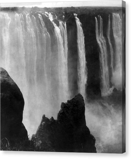 Victoria Falls Canvas Print - Victoria Falls - C 1911 by International  Images