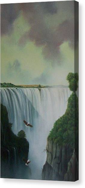 Victoria Falls Canvas Print by Don Griffiths