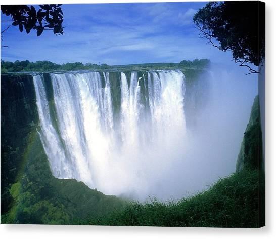 Victoria Falls Canvas Print - Victoria Falls by Maye Loeser