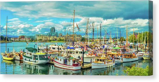 Victoria Harbor 2 Canvas Print