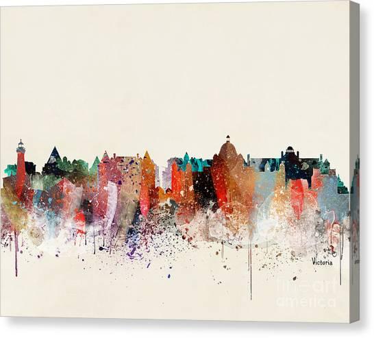 Victoria Canvas Print - Victoria Skyline  by Bri Buckley