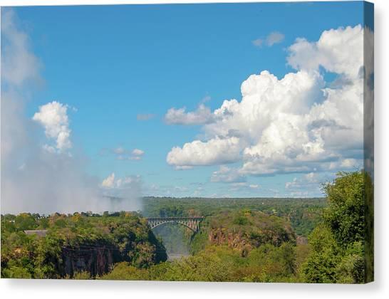 Victorial Falls Bridge Canvas Print