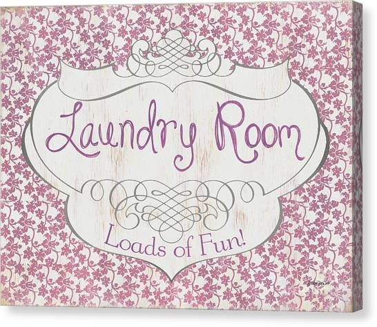 Laundry Canvas Print - Victorian Laundry Room by Debbie DeWitt